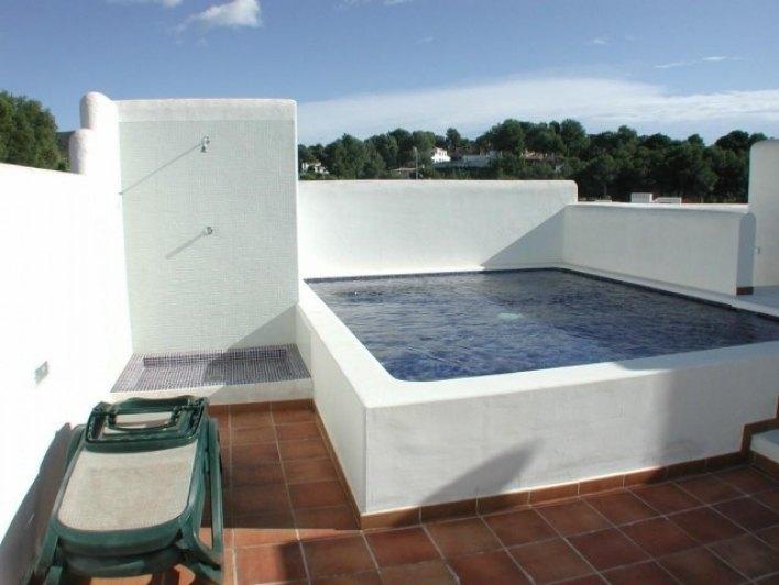 Tico de lujo a la venta con piscina privada ref - Atico con piscina ...