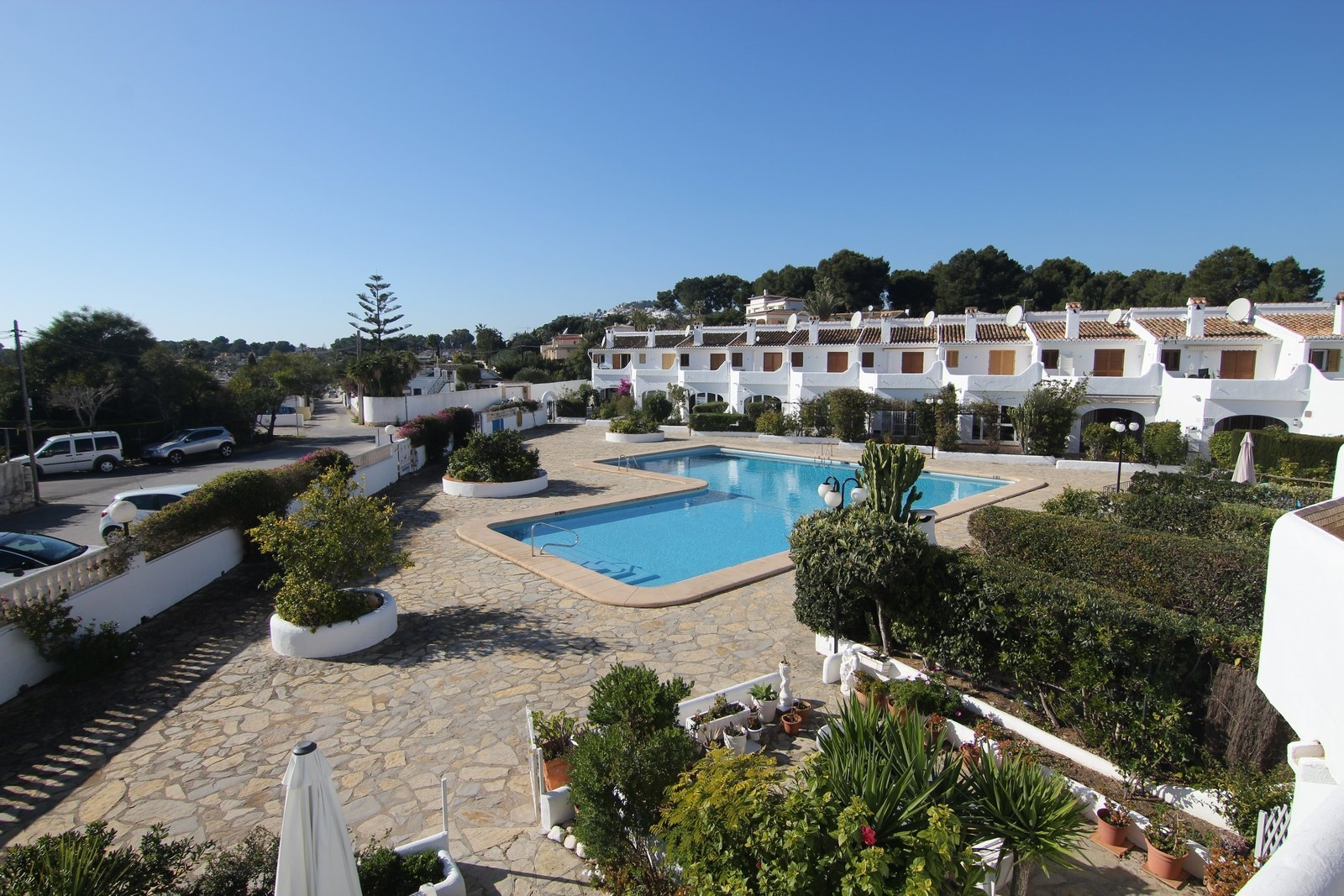 Adosado con piscina a la venta en Moraira.